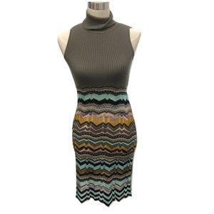 Missoni Sleeveless Wool Knit Dress, Size 2